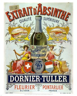 11175~Absinthe-Dornier-Tuller-Advertising-Carton-Posters