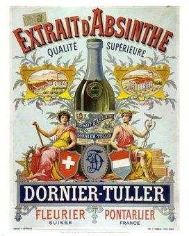 11175~Absinthe-Dornier-Tuller-Advertising-Carton-Posters