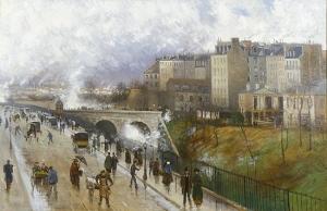 ADIRIKS VINTERDAG I PARIS