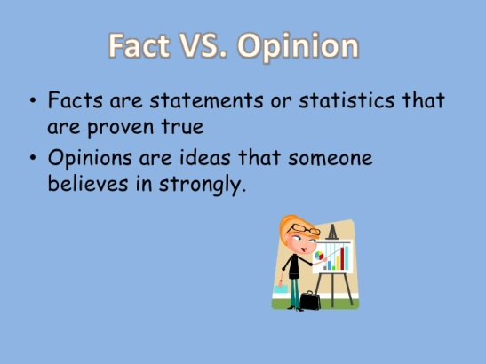 FACTSOPINION