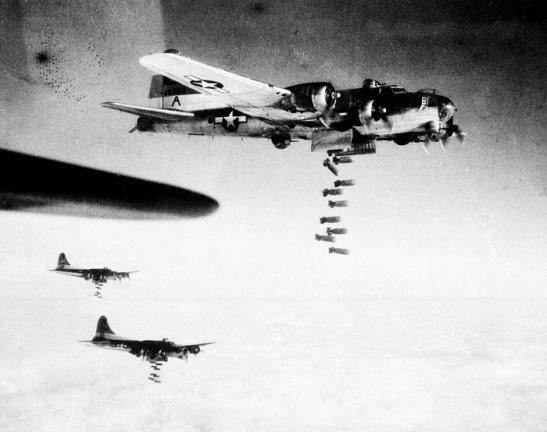 WWII B17 BOMB GERMAN TARGETS