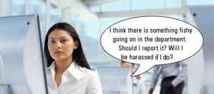 harassed